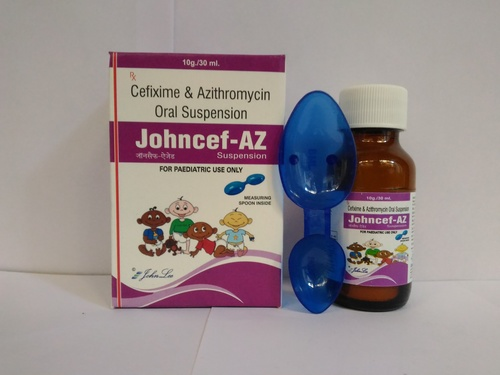 Cefixime & Azithromycin Oral Suspension