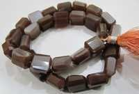 Chocolate Tumbled beads