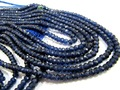 Blue Sapphire Smooth beads