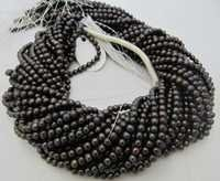 Black pearl beads