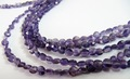 Amethyst Round faceted beads