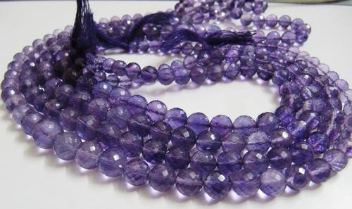 Amethyst Round stone beads