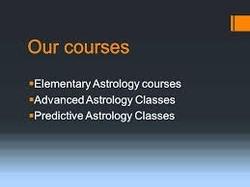 Prashar astrology classes