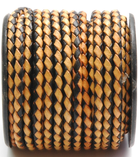 Multi Color Braided Leather Cords