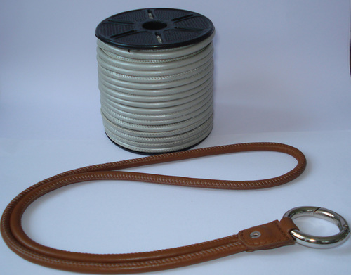 Machine Stitch Leather Cord