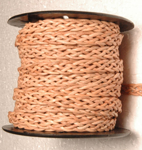 Flat Ply Braided Leather Cords