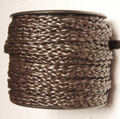 Antique Braided Leather Cords