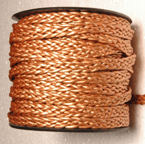 Braided Leather Bolo Cord