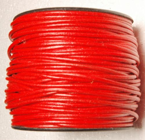 2 mm Round  leather cord