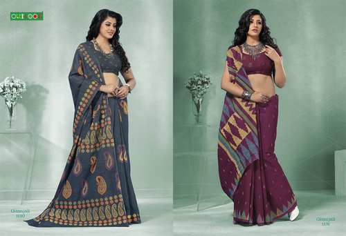 Trendy Indian Wear Saree - GITANJALI VOL TWO