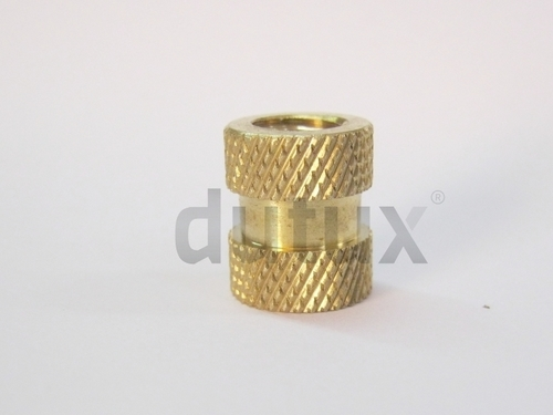 Round Threaded Inserts For Molding Components