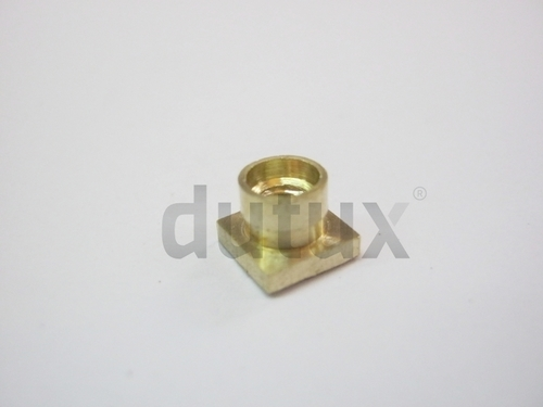 Brass Square Collar Rivet Inserts
