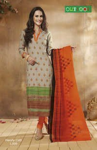 Embriodered Banarasi Dress Material