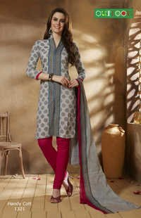 Straight Cut Georgette Suit