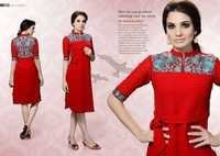 Multi Colour Cotton Kurti
