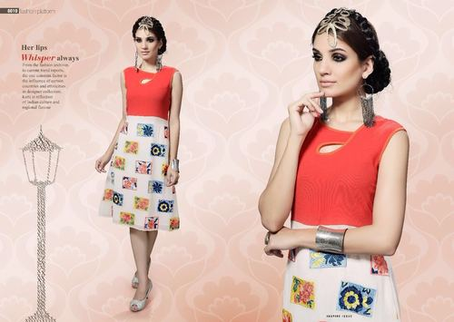 Casual Cotton Stitched Kurti