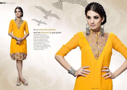 Embriodered Dress Kurtis