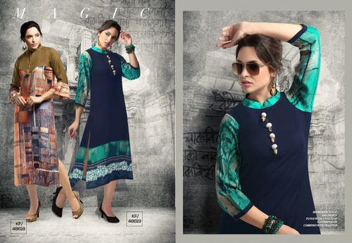 Designer Cotton Stitched Kurti