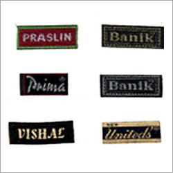 Self Adhesive Woven Label