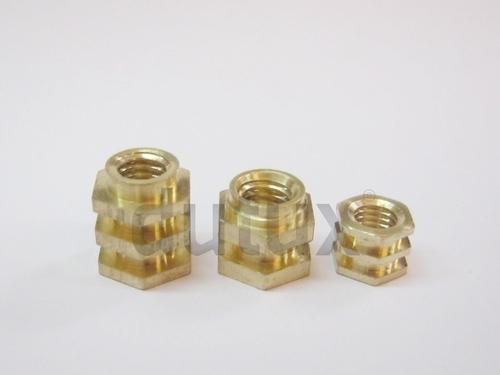 Triple Hex Brass Inserts