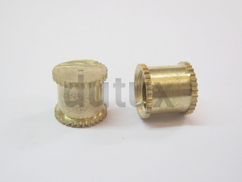 Brass Knurling End Inserts