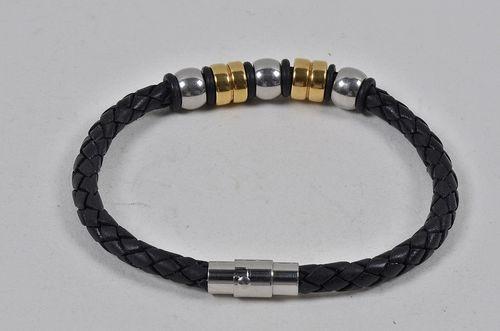 Antique leather bracelets