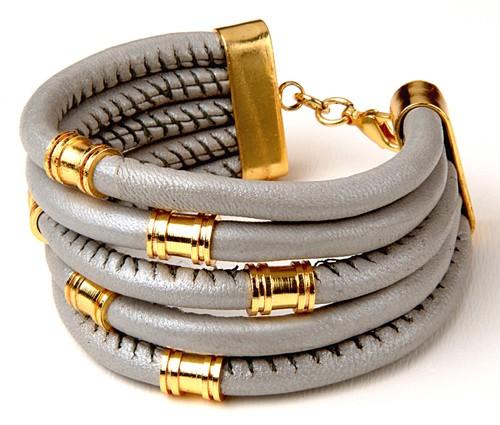 Ladies Leather Bracelets