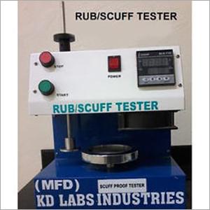 Scuff Tester