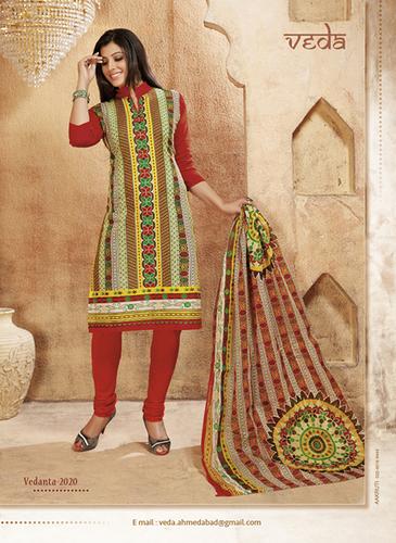Latest Cotton Dress Material Veda Vedanta