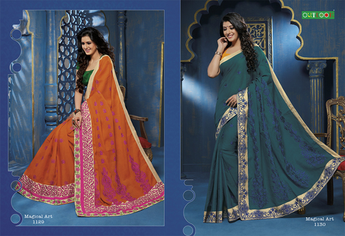 Sarees Delightful Casual Wear