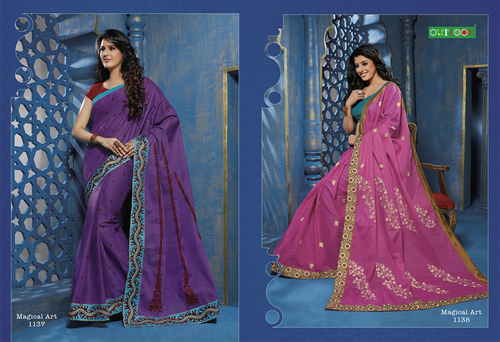 Indian Printed Designer Saree
