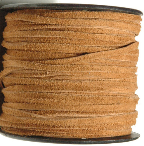 Flat Real Suede Leather Cord