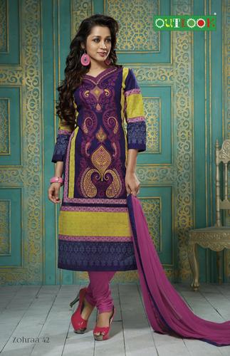 Latest Cotton Dress Material