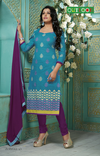 Ladies Embriodered Designer Suit