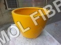 Fibre flower pot