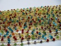 Multi color Dangling Chain