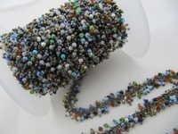 Multi color Angoori Dangle Chain