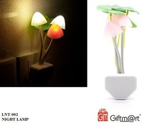 Mushroom Lamp Automatic Sensor Light Multi-Color Changing