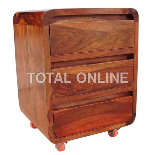 Astonishing Wooden Bedside Table