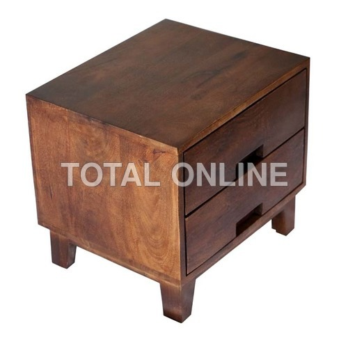 Bedside Wooden Table Made of Sheesham