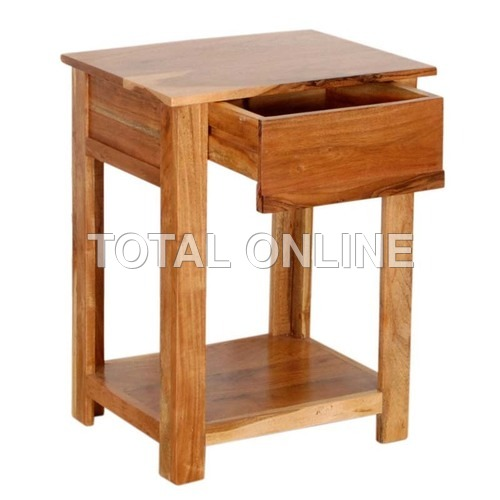 Adorable Wooden Bedside Table