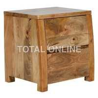 Charming Wooden Bedside Table