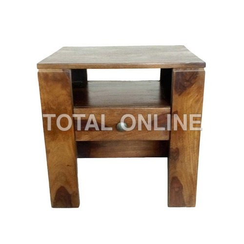 Class-Apart Wooden Bedside Table