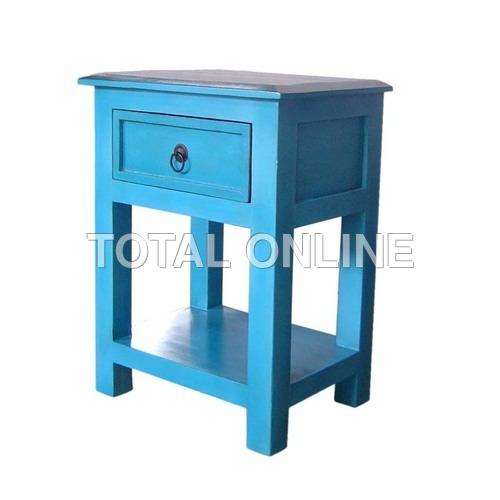 Elegant Wooden Bedside Table