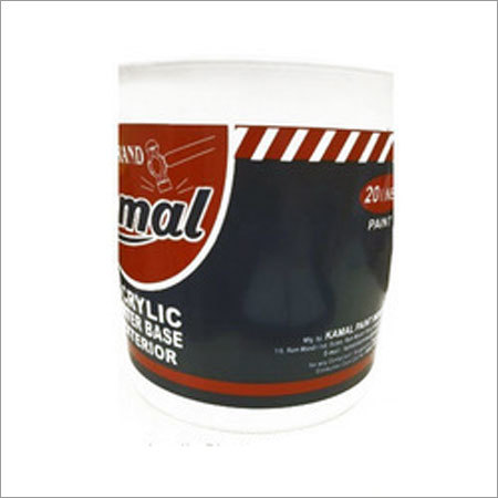Water Based Acrylic Emulsion Paint
