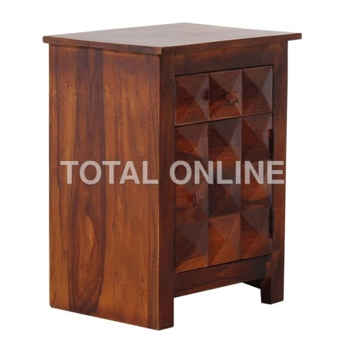 Spectacular Wooden Bedside Table