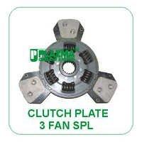 Clutch Plate 3 Fan Spl. John Deere