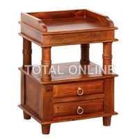 Spellbinding Wooden Bedside Table