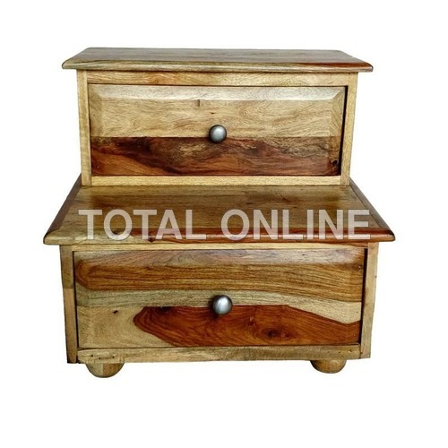 Stair Style Distinctive Wooden Bedside Furniture