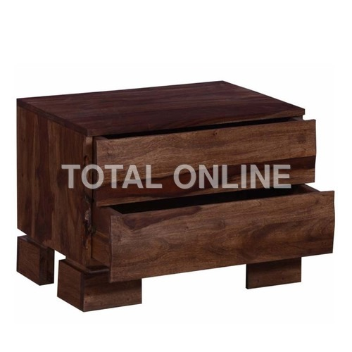 Unique Wooden Bedside Table